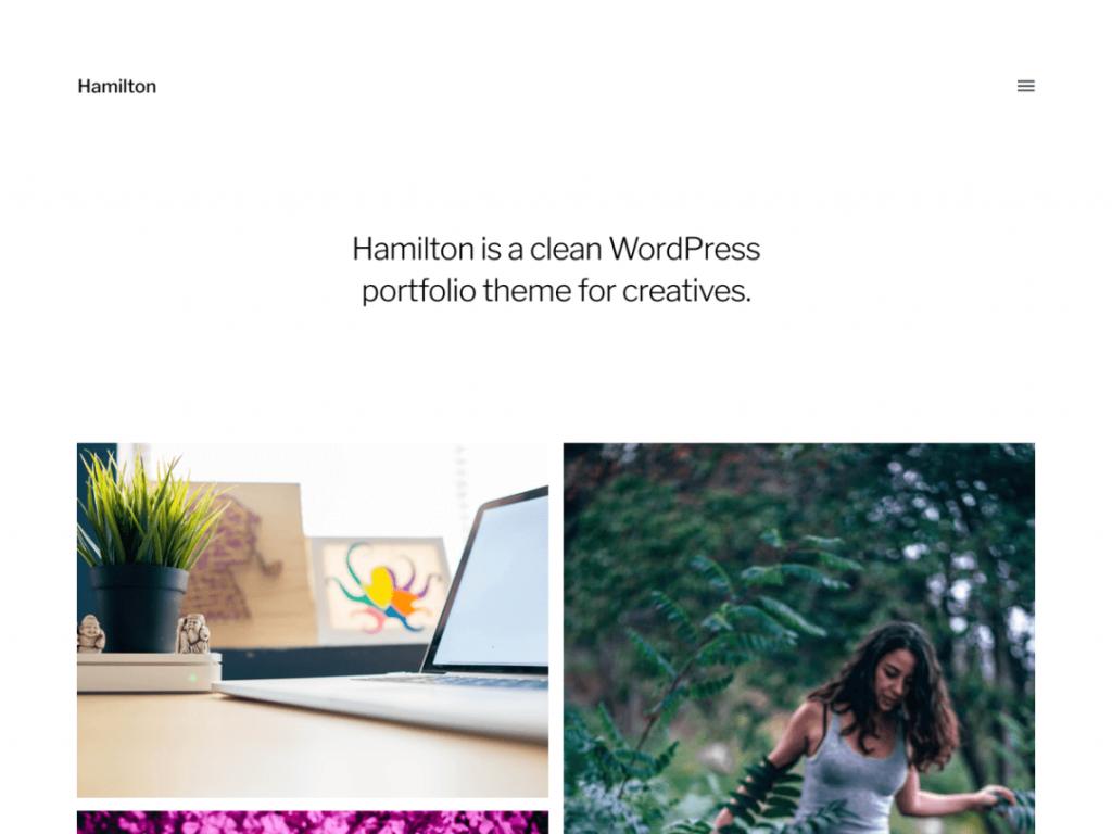 Hamilton WordPress Theme