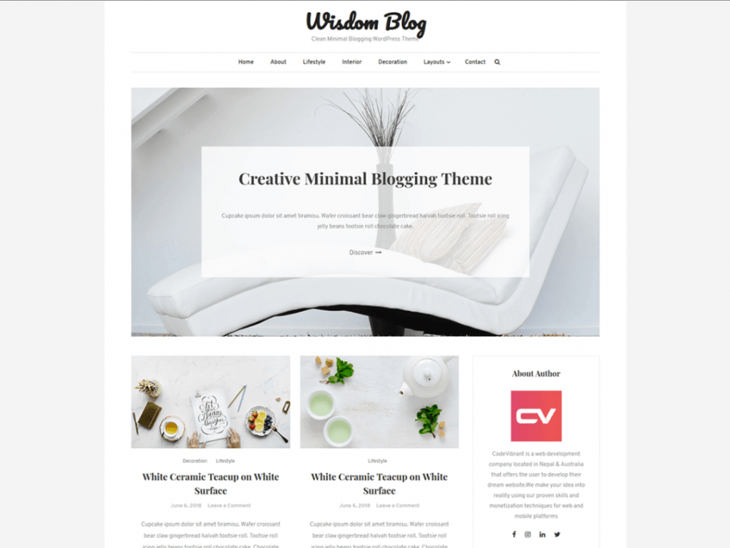21 Best Minimalist WordPress Themes for 2020! 9