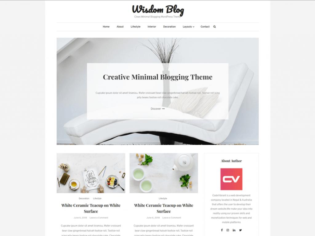 21 Best Minimalist WordPress Themes for 2021! 8