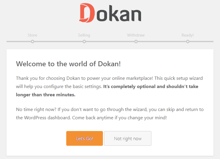 Dokan Multi-vendor Installation