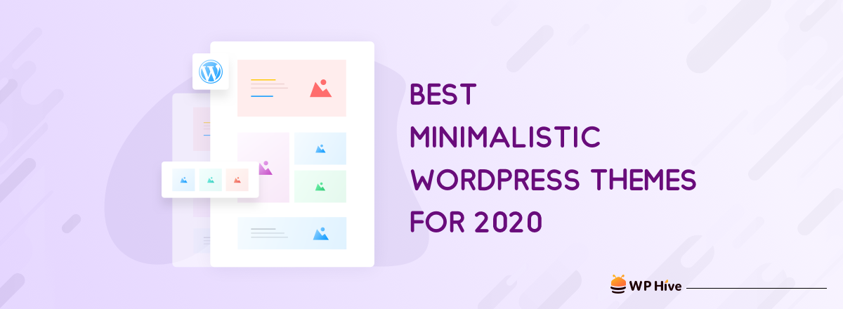 21 Best Minimalist WordPress Themes for 2020!