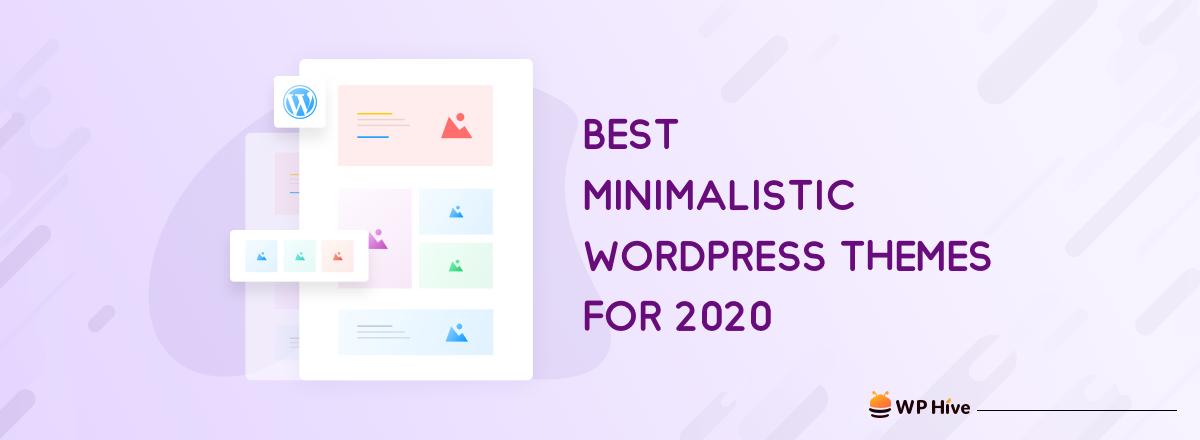 21 Best Minimalist WordPress Themes for 2021! 1