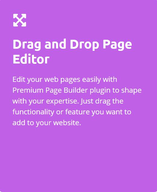 Drag and Drop builder Enzaime
