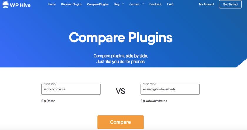 Compare plugin for better data drive decision