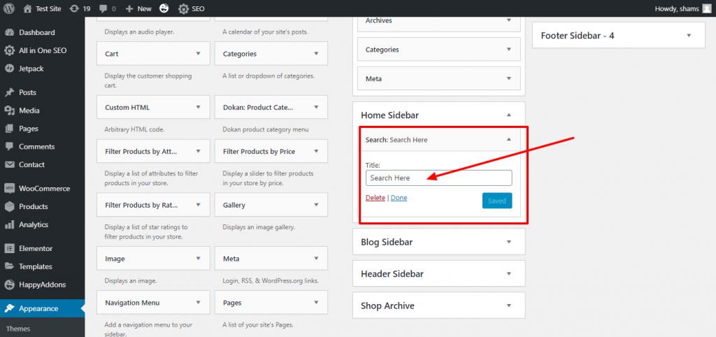How to Add A Search Bar in WordPress (3 Easiest Ways) 9