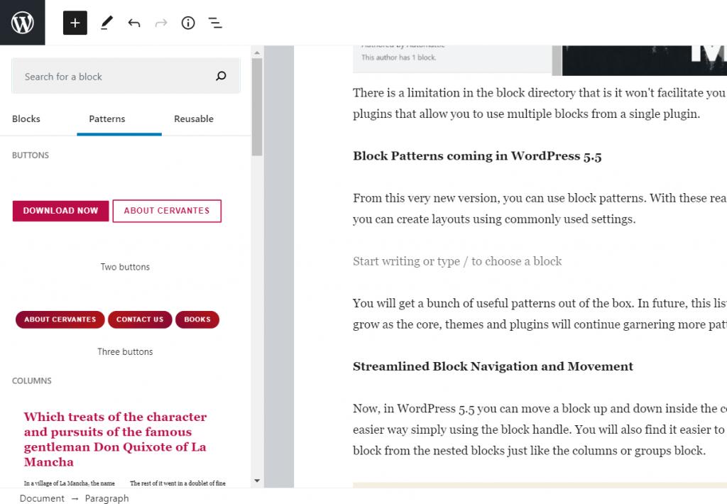 What's New in WordPress 5.5 4