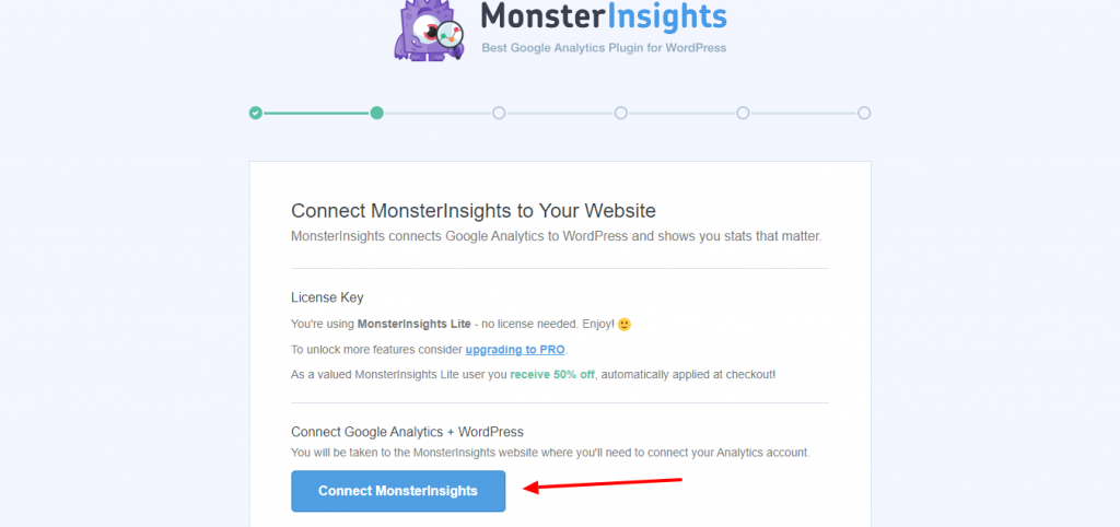 Customize Monsterinsights 2