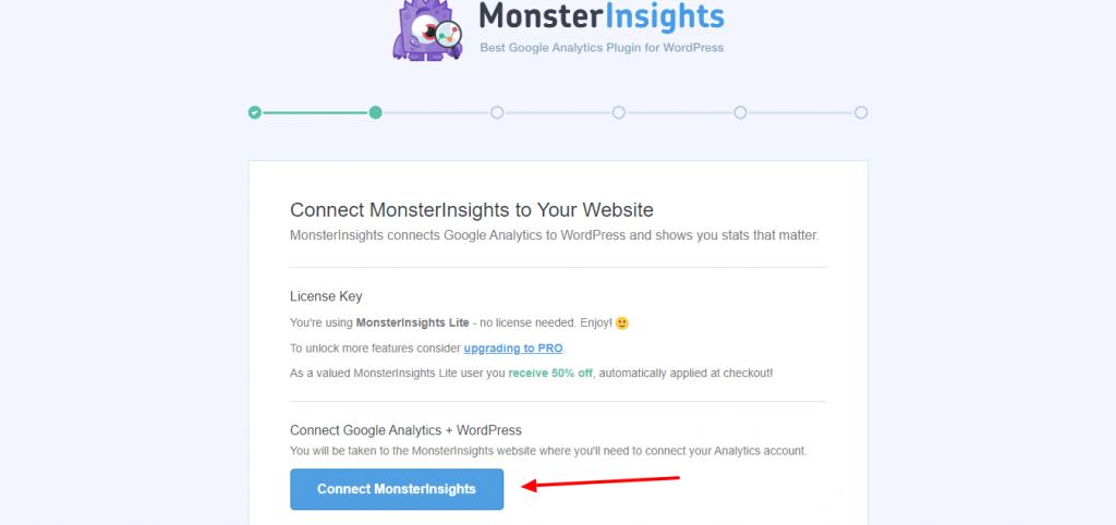 Customize Monsterinsights 2