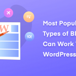 Most Popular Blog Topic You Can Work with WordPress