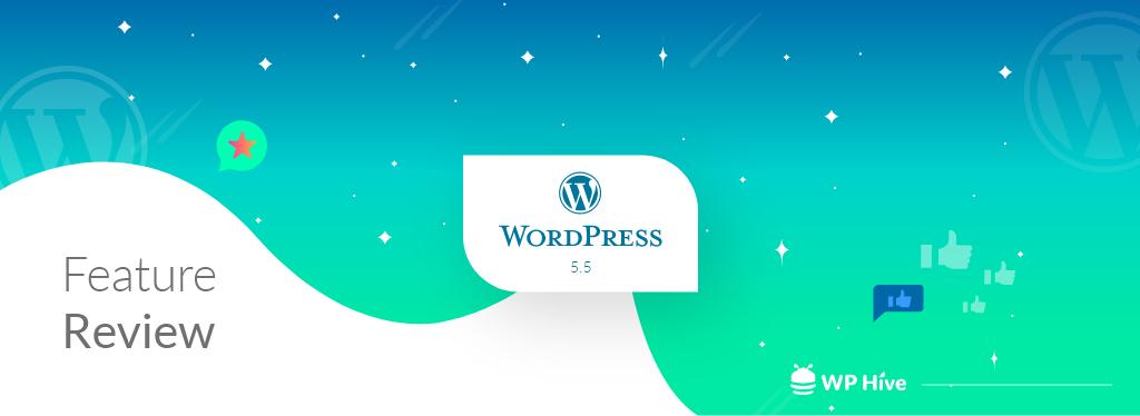 WordPress 5.5 new features