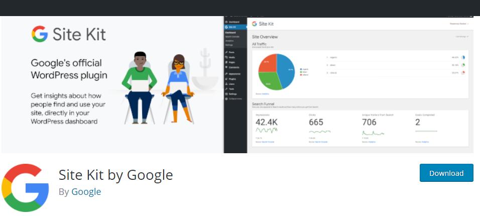 Google site kit