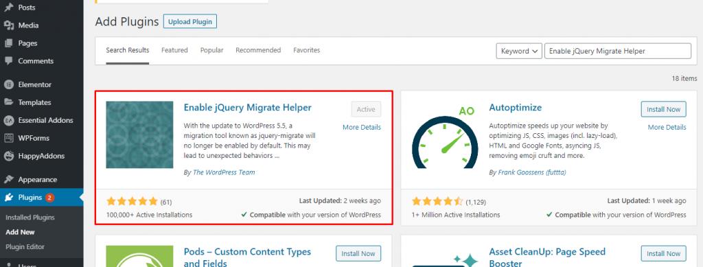 WordPress 5.5 Breaks Plugins & Sites: Here is the Fix 2