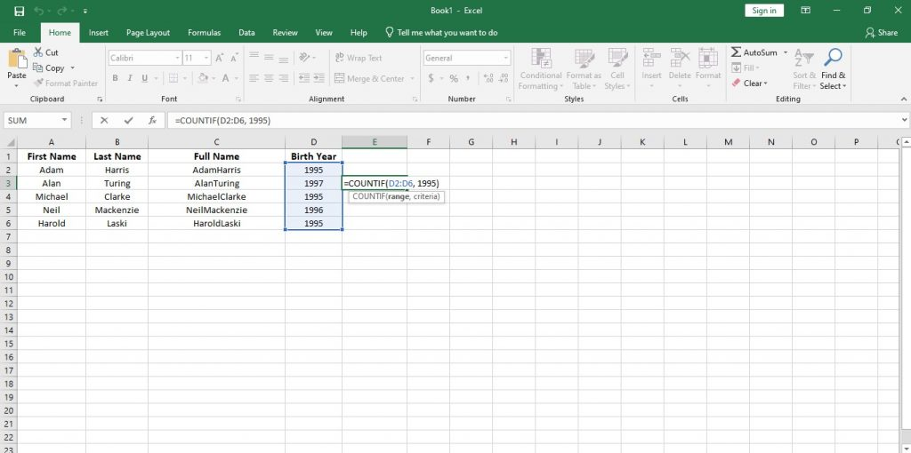 How to Use Important Functions of Data Analytics in Excel and Google Sheets 18