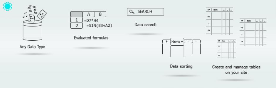 Data Tables Generator
