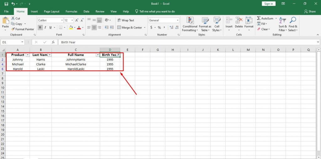 How to Use Important Functions of Data Analytics in Excel and Google Sheets 5