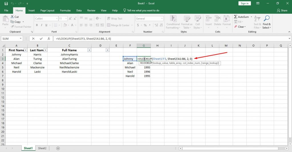 How to Use Important Functions of Data Analytics in Excel and Google Sheets 6