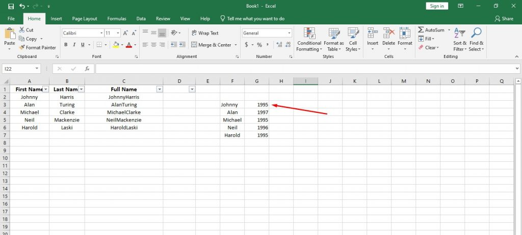 How to Use Important Functions of Data Analytics in Excel and Google Sheets 8