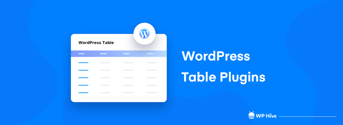 8 WordPress Table Plugins to Consider in 2020
