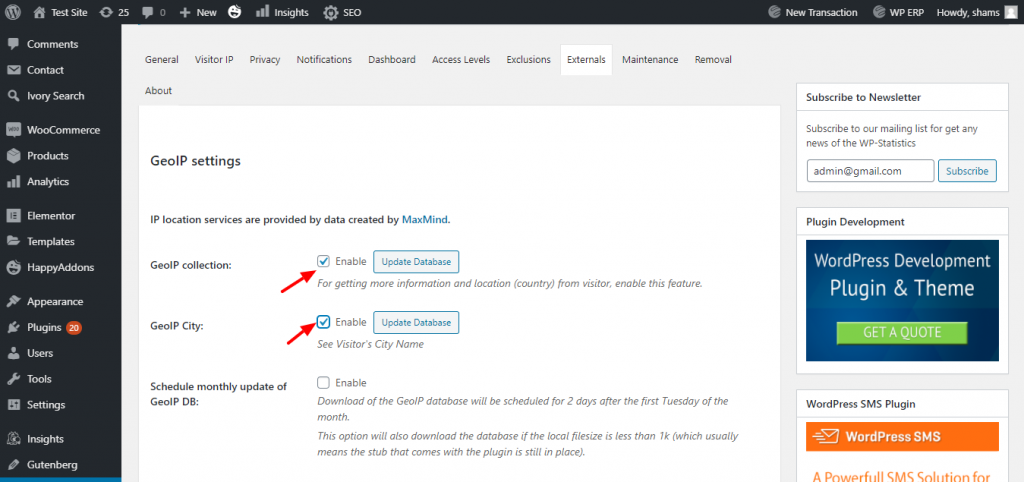 How to Track Website Visitors on WordPress 5
