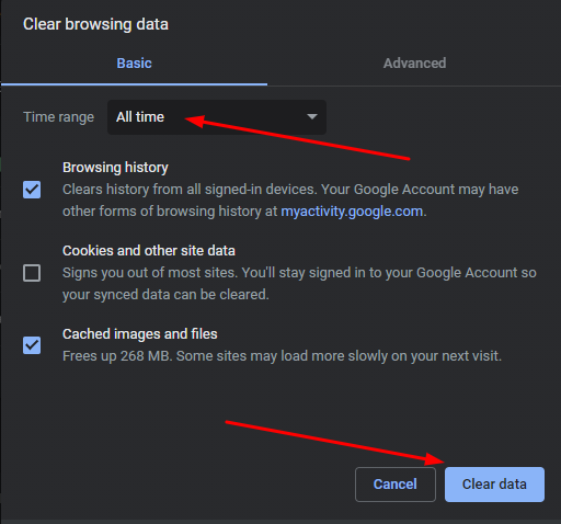 How to Fix Google Chrome Not Responding in No Time 3