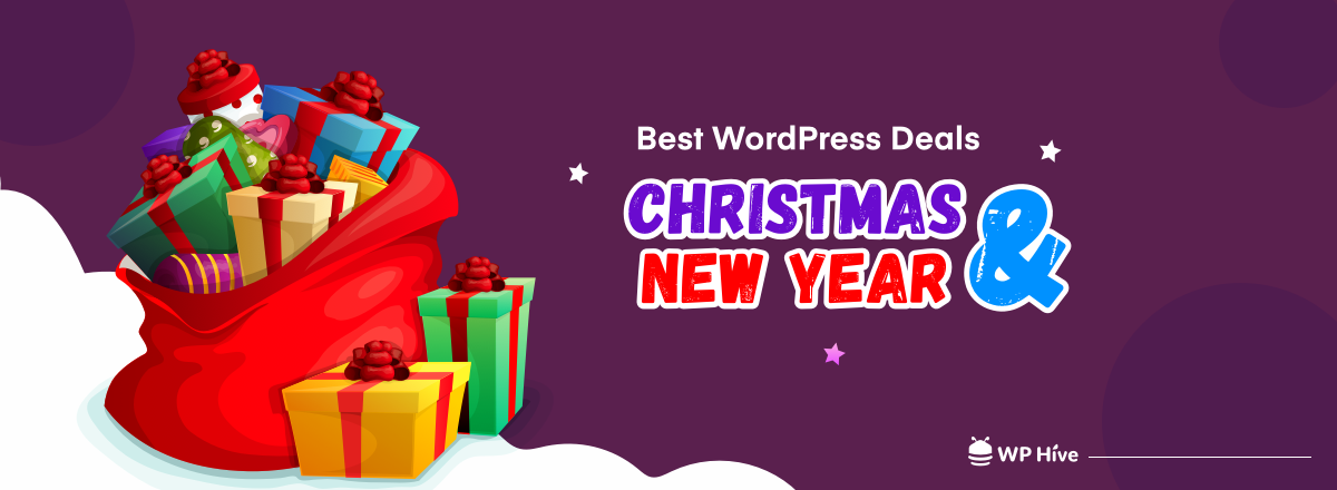 Best Christmas and New Year Deals on WordPress Plugins, Themes & Hosting [2020-2021]