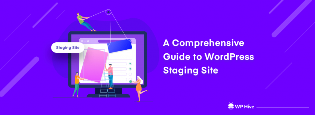 WordPress staging site