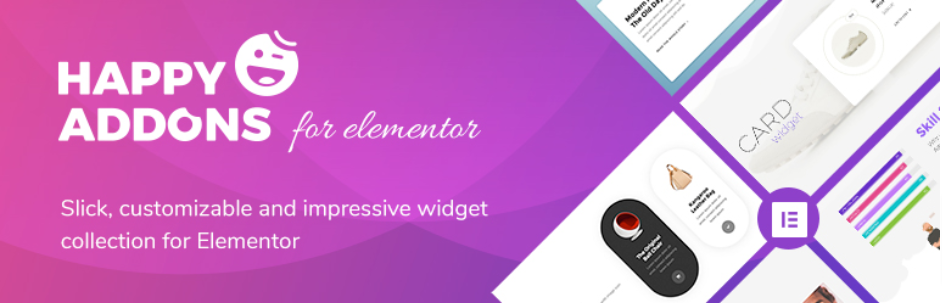 Happy Elementor Addons - best free Elementor addons