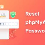 Reset phpMyAdmin password
