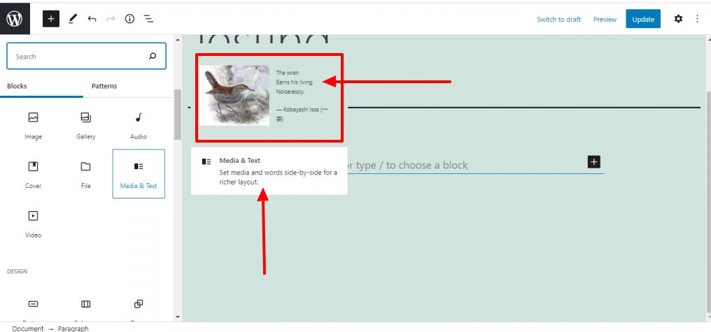 Block description