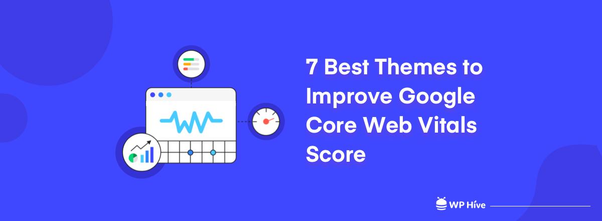 7 Best themes to improve Google core web vitals score