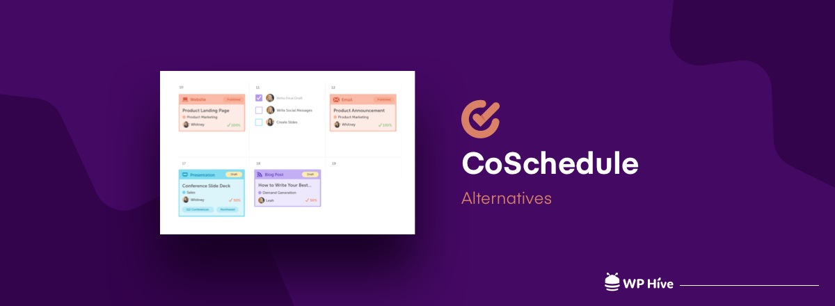Top 7 CoSchedule Alternatives in 2021