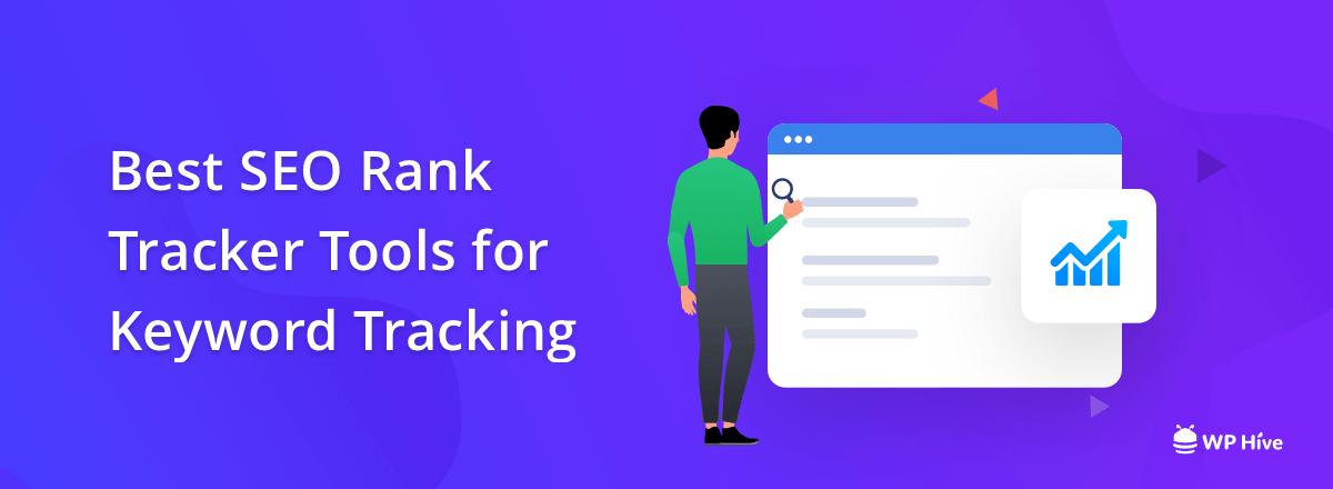 SEO rank tracker tools for keyword tracking