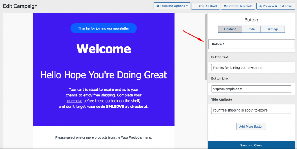 Customizing templates