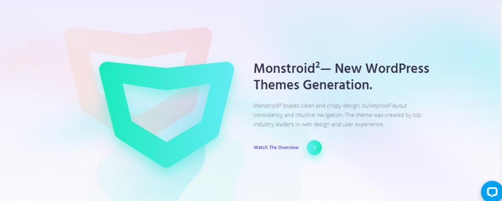 Monsterdroid theme for WordPress business website
