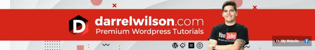 Darrel Wilson WordPress youtube channel