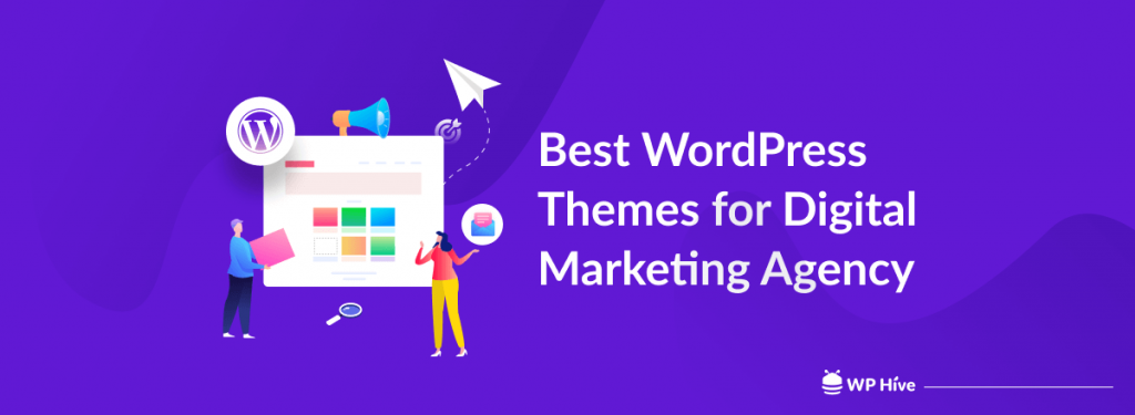 WordPress themes for digital marketing agency