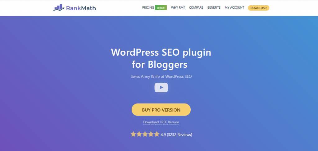 Rank Math SEO Plugin Premium