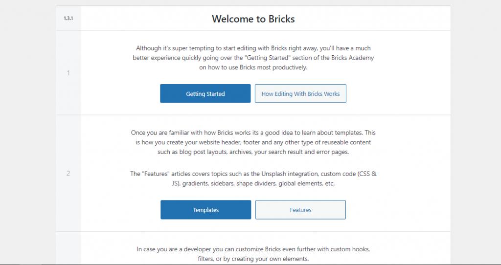 Bricks Builder- A Visual WordPress Website Builder within a Theme 1