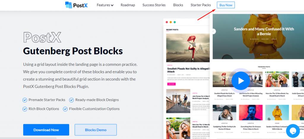 PostX Gutenberg Post Blocks