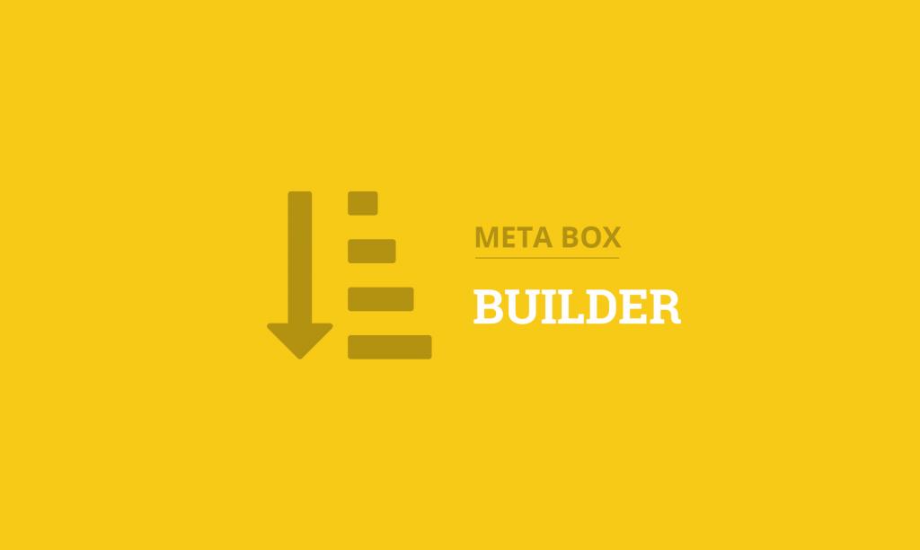 Meta Box Builder Extension