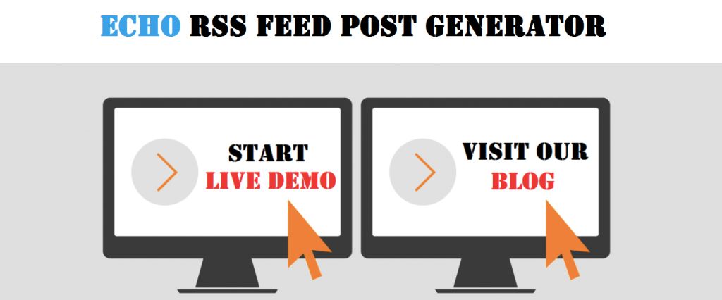 Echo RSS Feed Post Generator plugin