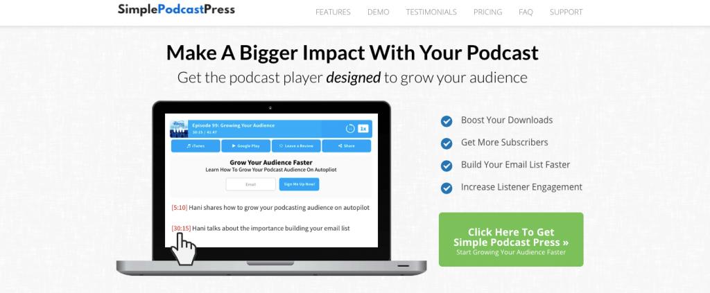 Simple podcast plugin