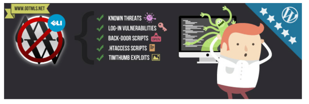 Anti-malware security and brute force firewall plugin for WordPress security