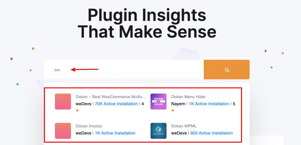 Plugin insights